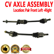 FRONT LEFT RIGHT CV AXLE SHAFT ASSEMBLY For MINI COOPER 1.6L Manual Transmission