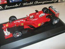 1:18 Ferrari F2000 M. Schumacher 2000 rebuilt Full tabacco in showcase TOP