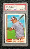 Baltimore Orioles Cal Ripken Jr. 1982 Topps Traded #98T PSA 9 Mint