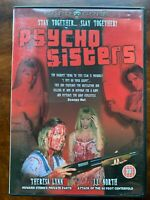 Psycho Sisters DVD 1998 Pete Jacelone Cult Horror Film Movie