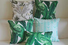 """Art Vintage Tommy Bahama Swaying Palms Outdoor CUSHION COVER PILLOW CASE 18"""""""