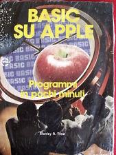 Informatica Vintage - BASIC su Apple Programmi in pochi minuti ed.JAckson [TR.8]