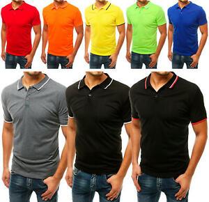 DSTREET Poloshirt Herrenshirt Basic Sport Unifarben Herren m l xl xxl
