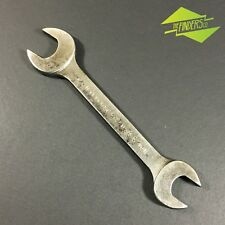 """VINTAGE PLVMB PLOMB USA MADE SPANNER 3/16"""" x 1/4"""" WHITWORTH SPANNER WRENCH"""