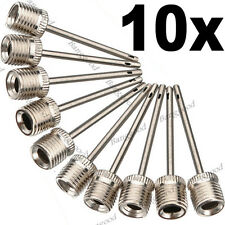 10x Sports Inflating Needle Pin Nozzle Football Basketball Soccer Ball air Pump