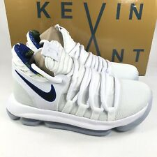 99c3fa83536 Nike Zoom KD10 LIMITED NBA White Game Royal AJ7781 101 Size 5.5 Youth New  In Nox