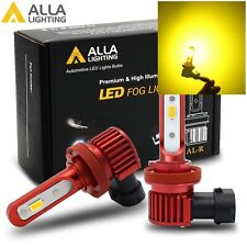 Alla LED H11 Brightest Golden Yellow Cornering Light Fog Light W/ Beam on Road