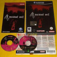 RESIDENT EVIL 4 GameCube Versione Italiana 1ª Edizione Vip New ••••• USATO
