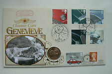 Handstamped Cars Great Britain First Day Covers (1971-Now)