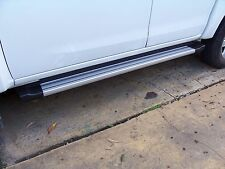 EGR Side Steps for Isuzu D-Max 2012+ Dual or Extra Cabs - Silver