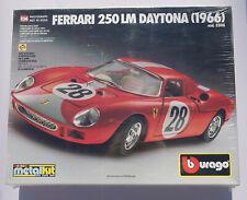 Ferrari 250 LM Daytona 1966 #28 rot Bburago 5506 Metal Kit Bausatz 1/24 NEU