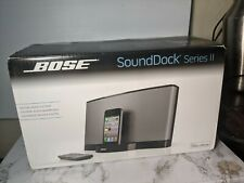 RARE NEW IN BOX Bose SoundDock Series II 2 Apple Complete Remote iPhone 3 4 iPod
