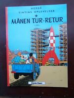 Tintin - Objectif Lune  en DANOIS - Carlsen Comics - 1988 - TBE!!!