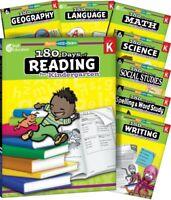 Kindergarten 180 Days of Practice Grade K Curriculum Bundle Homeschool Grade K