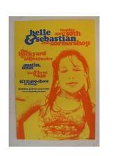 Belle And Sebastian Silkscreen Poster & +