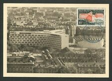 France MK 1958 UNESCO Paris UN un maximum Card Carte Maximum Card MC cm d9269