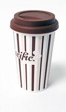 Plástico Taza de café, reutilizable, para viaje, torsión en la tapa, 360ml cc700