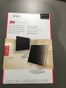 3M PF21.5W9 Black Privacy Screen Filter-New 21.5 Inches