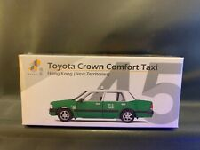 Tiny City Hong Kong New Territories Hk #45 Toyota Crown Comfort Taxi Green 1 pc