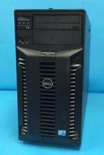 Poweredge T410 Tower Server, 1 x QC Xeon 2.4Ghz, 4GB, No Drives, Perc 6i, RPS