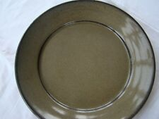Jugtown Ware/Seagrove Pottery Owens 1998 Lot Of 2 Salad Plates Green Brown