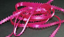 *** PINK LOOP EDGE - Ribbon - 10mm Wide ***