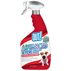 Out! Pet Care Advanced Stain & Odor Remover 32 oz Spray Bottle