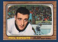 PHIL ESPOSITO 66-67 TOPPS 1966-67  NO 63 EX  0813