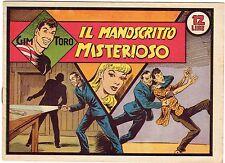 fumetto GIM TORO SERIE ROSA ORIGINALE ANNO 1948 N. 48
