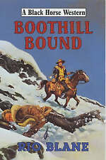 Blane, Rio, Boothill Bound (Black Horse Western), Very Good Book