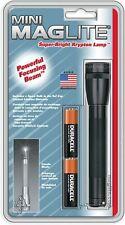 Maglite m2a016 mini 2 Cell AA Black linterna, 1.5 V, negro