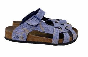 Birkenstock Papillio Women's 39 Blue Comfort Summer Sandals
