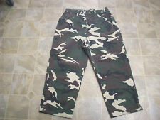 BILL BLASS Glitter Camo Easy Fit Cotton Jeans Capris 28X23 Women's 8  #3719