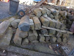Basalt Säule, Steine
