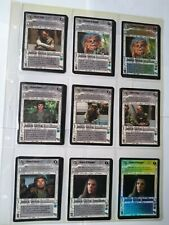 Star Wars ccg M/NM Endor complete 198 card set, 18 foils - Daughter of Skywalker