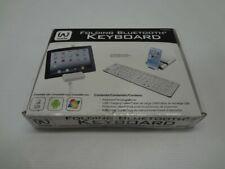 iWerkz 44652WH Folding Wireless Bluetooth Keyboard *New Unused*