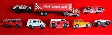 1/64 Emergency Vehicles Lot Of 8