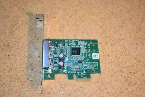 Dell DPWC200 Firewire 800 / 400 PCI-E Card 2x1394B 1x1394A 0HTTT Full Height