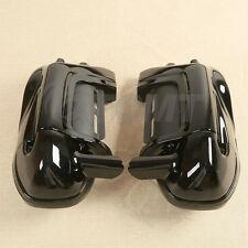 Lower Vented Leg Fairings W/ speaker boxes pods For Harley Road King Glide 83-13