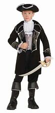 Boys Deluxe Pirate Costume Kids Swashbuckler Colonial Officer Size Small 4-6