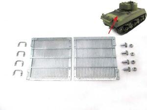 Mato MT144 Metal Engine Grills for Heng Long Sherman Tank 1/16 UK