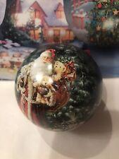 Holiday Ornament Puzzle Round 100 Pieces- Santa