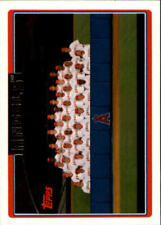 Cromos de béisbol de coleccionismo Topps los angeles angels