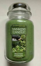 YANKEE CANDLE MEADOW SHOWERS LARGE 22 OZ JAR UNISEX CLEAN SCENT