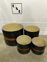 Mapex M Series Drum Kit Drum Shells 4 Piece Bare Wood Project /Upcycle