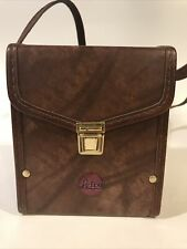 Vintage Leica Brown Leather Camera Case With Strap
