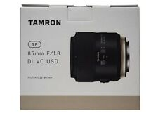TAMRON Single Focus Lens SP85 mm F1.8 Di VC USD Full Size for Canon F016E New