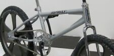 5 Piece Black & Chrome ASHTABULA STICKER SET for Old School BMX Bike Bicycle