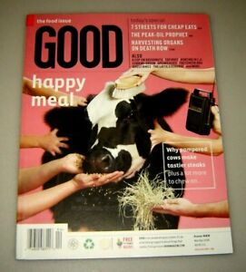GOOD magazine #9 Mar/April 2008 education,urban planning,design,politics,culture