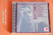 Sibelius - Symphonie n°2 Luonnotar Pohjola - Leonard Bernstein - CD Sony